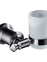 cheap -Modern Toothbrush Holders Stainless steel Solid Round