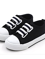 cheap -Boys' Shoes Canvas Spring Fall Comfort Sneakers Walking Shoes Magic Tape for Casual Black Red Pink