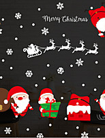 Natale Adesivi murali Adesivi aereo da parete Adesivi decorativi da parete,Vinile Decorazioni per la casa Sticker murale Parete