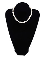 cheap -Women's Choker Necklaces Circle Imitation Pearl Fashion Jewelry For Gift Daily