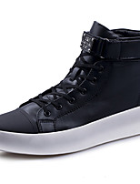 cheap -Unisex Shoes Synthetic Winter Fall Comfort Sneakers for Athletic Casual Black