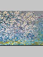 economico -Dipinta a mano Floreale/Botanical Orizzontale,Modern Tela Hang-Dipinto ad olio For Decorazioni per la casa Un Pannello
