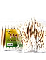 cheap -100 pcs Makeup Cotton Stick Wooden Stick