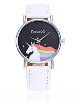 cheap -Women's Casual Watch Chinese Quartz Casual Watch PU Band Casual Bohemian Cool Black White Blue Red Orange Green Pink Purple Yellow Khaki