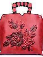 cheap -Women Bags PU Shoulder Bag Zipper for Casual All Season Brown Dark Green Red