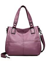 cheap -Women Bags PU Shoulder Bag Zipper for Event/Party Casual Winter Fall Wine Purple Gray Black