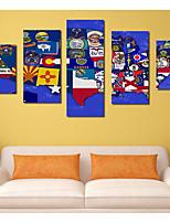 Juego de Lienzo Clásico,Cinco Paneles Lienzos Estampado Decoración de pared Decoración hogareña
