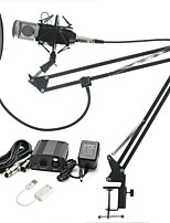 cheap -KEBTYVOR BM-800 WiredMicrophoneSets Condenser Microphone