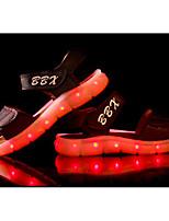 preiswerte -Mädchen Schuhe PU Winter Herbst Komfort Sandalen für Normal Weiß Schwarz Dunkelblau Braun