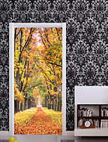 cheap -Floral/Botanical Landscape Wall Stickers Plane Wall Stickers 3D Wall Stickers Decorative Wall Stickers,Paper Vinyl Home Decoration Wall