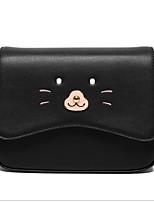 cheap -Women Bags PU Shoulder Bag Pattern / Print for Casual All Season Black