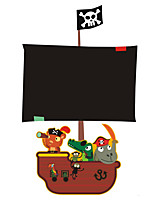 preiswerte -Cartoon Design Tafel Wand-Sticker Flugzeug-Wand Sticker Dekorative Wand Sticker,Vinyl Haus Dekoration Wandtattoo Wand Fenster