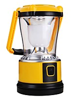 Lanterns & Tent Lights LED 200 lm Manual Mode LED with Charger Simple Camping/Hiking/Caving Yellow