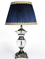 cheap -Ambient Light Crystal Table Lamp Crystal On/Off Switch AC Corded Only 220V Blue