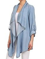cheap -Women's Daily Casual Winter Fall Trench Coat,Solid Shirt Collar Long Sleeve Regular Cotton