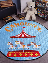 cheap -Creative Modern Area Rugs Polyester,Superior Quality Round Print Rug