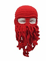 cheap -Octopus Hats Black Blue Red Green Bonded Cosplay Accessories Christmas