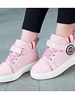 economico -Da ragazza Scarpe Di pelle Inverno Autunno Comoda Stivaletti alla caviglia Stivaletti Stivaletti/tronchetti per Casual Nero Rosso Rosa