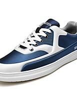 Недорогие -Для мужчин обувь Резина Весна Осень Удобная обувь Кеды Ботинки Ленты для Серый Красный Синий