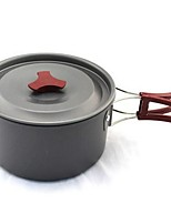 preiswerte -Campingkocher Kochutensilien für den Outdoor Gourmet tragbar Edelstahl Metall für Camping