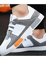 Недорогие -Для мужчин обувь Свиная кожа Весна Осень Удобная обувь Кеды для Повседневные Белый Красный Зеленый