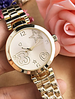 cheap -Women's Casual Watch Fashion Watch Wrist watch Chinese Quartz Casual Watch Alloy Band Casual Elegant Silver Gold Rose Gold