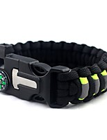 cheap -Fire Starter Survival Bracelet Camping / Hiking / Caving Camping & Hiking Outdoor Nylon fiber 1 pcs