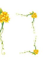 Floral Stickers muraux Autocollants avion Autocollants muraux décoratifs,Vinyle Décoration d'intérieur Calque Mural Mur