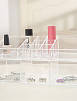 cheap -Cosmetic Box Others Makeup Storage Transparent Fashion Quadrate Plastics