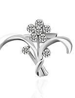 cheap -Women's Brooches Rhinestone Basic Alloy Irregular Jewelry For Wedding Party