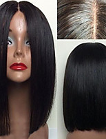 cheap -Lace Front Wig Bob Straight Brazilian Human Hair Wig Short Bob Wig For Black Women Brazilian Virgin Hair Wigs With Baby Hair