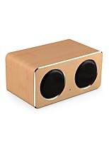 economico -W2 Altoparlante Bluetooth Bluetooth 4.0 AUX 3.5mm Casse acustiche da supporto o da scaffale Giallo Marrone scuro