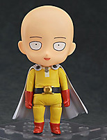 cheap -Anime Action Figures Inspired by One-Punch Man Saitama PVC CM Model Toys Doll Toy