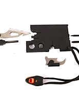 cheap -Credit Card Survival Tool Outdoor Exercise Camping / Hiking / Caving Camping & Hiking Outdoor Multi-functional metal 1 pcs