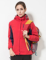 Unisex Hiking 3-in-1 Jackets Outdoor Winter Windproof Rain-Proof Heat Retaining Breathability 3-in-1 Jacket Full Length Hidden Zipper
