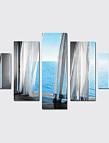 cheap -Canvas Print Modern,Five Panels Canvas Vertical Panoramic Print Wall Decor Home Decoration