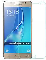 abordables -Protector de pantalla para Samsung Galaxy J7 (2016) Vidrio Templado 1 pieza Protector de Pantalla Borde Curvado 2.5D A prueba de