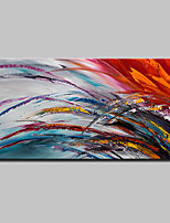 Hand-Painted Abstract Horizontal,Simple Modern Canvas Oil Painting Home Decoration One Panel