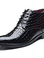 cheap -Men's Shoes Synthetic Microfiber PU Spring Fall Light Soles Oxfords for Office & Career Black