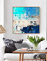cheap -Abstract Oil Painting Wall Art,Alloy Material With Frame For Home Decoration Frame Art Kitchen Dining Room Office