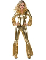 cheap -Movie/TV Theme Costumes Outfits Sparkle & Shine Costume Women's Cosplay Costume Outfits Costume Golden Vintage Cosplay Other Material