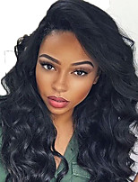 cheap -New T1B/27 Brazilian Human Hair Lace Front Wig Wave Lace Front Natural hair wigs with Baby Hair For Black Woman On Sale