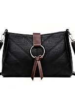 cheap -Women Bags PU Crossbody Bag Zipper for Event/Party Casual Winter Fall Black Gray Purple Brown Wine