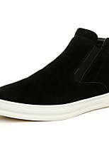 cheap -Men's Shoes Suede Winter Fall Fluff Lining Boots Booties/Ankle Boots for Casual Outdoor Black