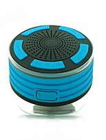 F013 Speaker Saugnapfhalterungen Bluetooth 4.2 Micro-USB Subwoofer Orange Hellblau