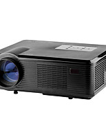 abordables -Factory OEM CL740 LCD Proyector de Home Cinema WVGA (800x480)ProjectorsLED 2400