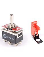 cheap -Heavy Duty Toggle Switch Flick ON/OFF/ON Car Dash 12V DPDT Missile