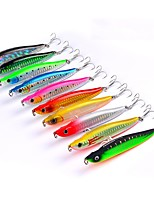 "cheap -10 pcs Fishing Tools Hard Bait Minnow g/Ounce,100 mm/4"" inch,Plastic Sea Fishing Trolling & Boat Fishing Lure Fishing"