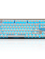 Ajazz-Ak40  Game Mechanical Keyboard Key Blue Axis Black Axis 87 Key Playerunknown's Battlegrounds Overwatch