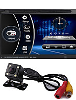 cheap -2 Din 6.95'' Inch LCD Touch Screen Car Audio 12v Auto Radio Player Support Bluetooth Hands Free Rear View Camera Autoradio Stereo
